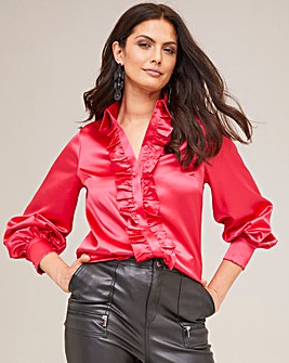 Joanna Hope Satin Blouse