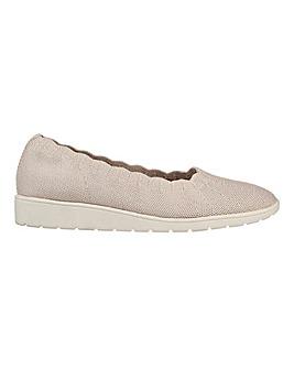Skechers Cleo Flex Wedge Spellbind Shoes D Fit