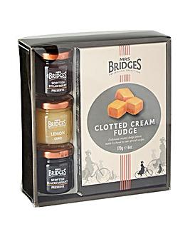 Mrs Bridges Cream Fudge & Mini Pack