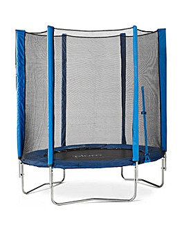 Plum 6ft Blue Trampoline & Enclosure