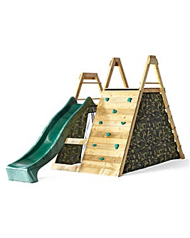 Plum Pyramid Climbing Frame & PlayCentre