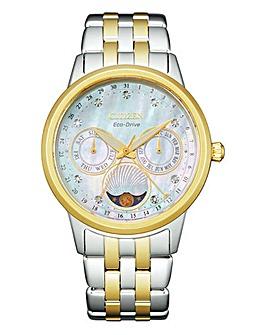 Citizen Ladies Eco-Drive Moonphase Diamond Watch