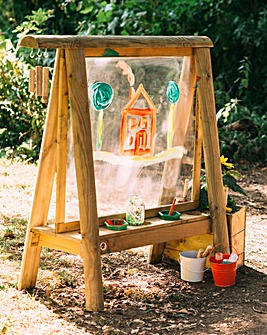 Plum Discovery Create and Paint Easel