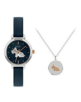 Radley Ladies Watch & Necklace Gift Set