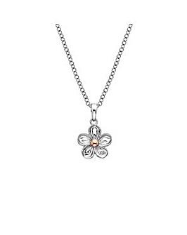 Hot Diamonds Flower Pendant