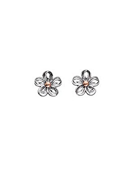 Hot Diamonds Flower Earrings