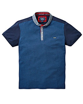 Bewley & Ritch Jaquard Polo Long