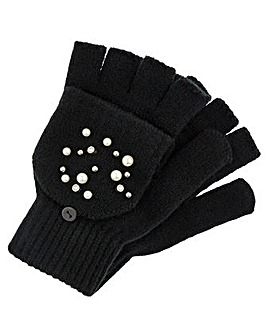 Accessorize Pearl Capped Glove
