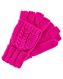 Accessorize Chunky Capped Glove