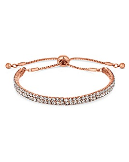 Jon Richard Rose Gold Band Toggle