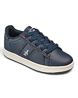 Penguin Steadman Leather Lace Trainers