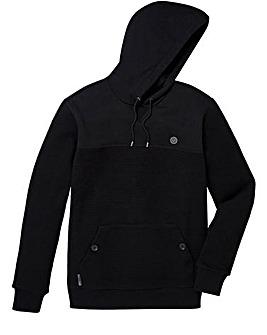 Voi Cross Knit Hooded Jumper