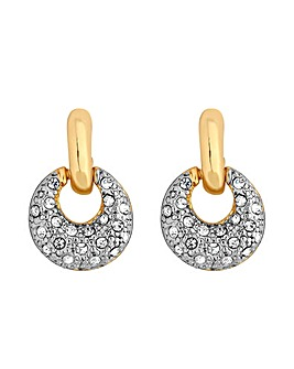 Jon Richard Multitonal Drop Earring