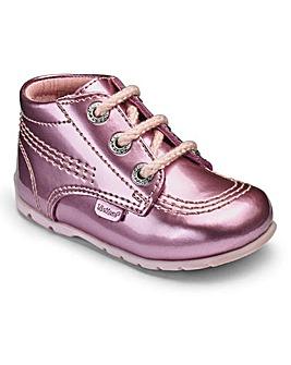 Kickers Kick Hi Lace Shoes