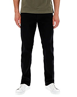 Wrangler Texas Stretch Black 36 In Leg