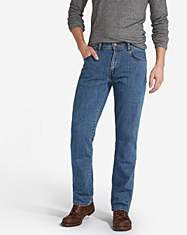 Wrangler Texas Stretch L Stone 30 In Leg