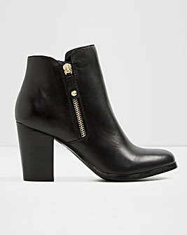 Aldo Wide Fit Naedia Side Zip Boots