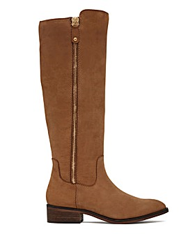 Aldo Wide Fit Gaenna Side Zip Boots