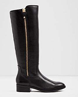 Aldo Wide Fit Gaenna Side Zip Boots