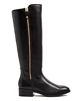 Aldo Wide Fit Gaenna Side Zip Boots Standard Calf
