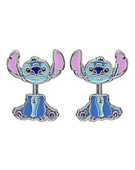 Disney Lilo & Stitch Blue and Purple Costume Enamel Earrings