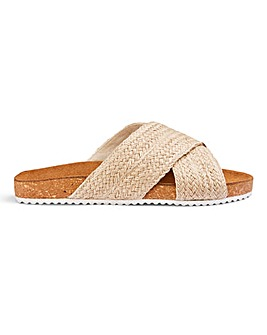 Libby Footbed Sandals Wide Fit