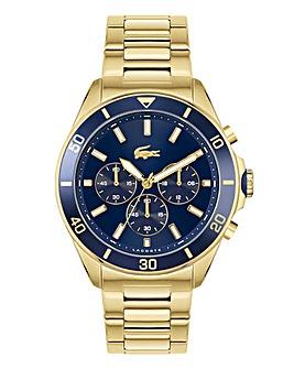 Lacoste Gents Gold IP Bracelet Watch