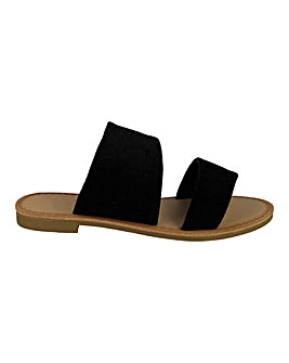 Two Strap Sandal Wide Fit