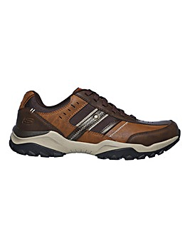 Skechers Delwood Leather Lace Up