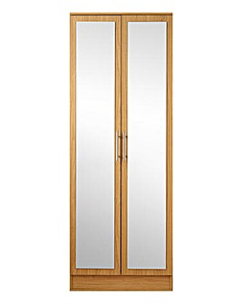 Helsinki Two Door Wardrobe with Mirror