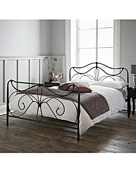 Lily Single Bed with Quilted Mattress