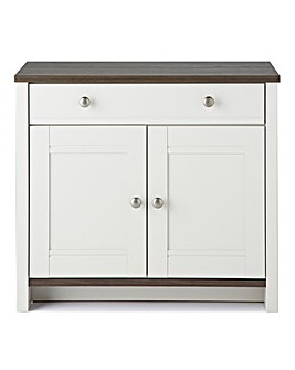 Salcombe 2 Door 1 Drawer Sideboard