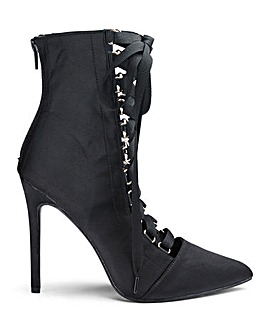 Glamorous Lace Front Shoe Boots