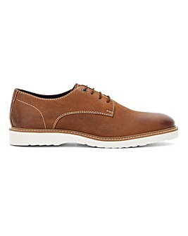 Contrast Sole Derby Shoe Standard Fit
