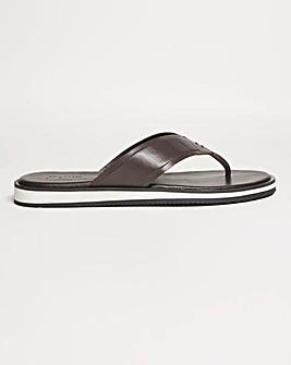 Lea Sandal Contrast Sole Wide Fit