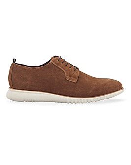Jacamo Premium Suede White Sole Derby Standard Fit