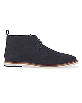 Jacamo Suede Chukka Boot with White Sole
