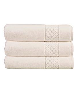 Christy Serenity Towel Range-White