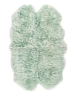 Genuine Sheepskin Rug- Quad