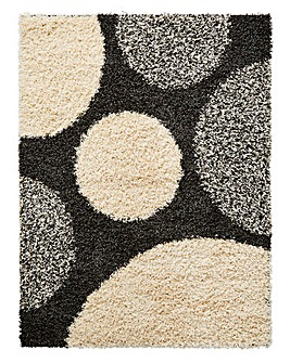 Pluto Shaggy Rug Large