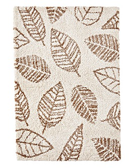 Autumn Leaves Shaggy Rug
