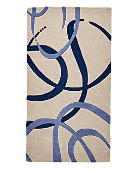 Ribbon Wool Rug