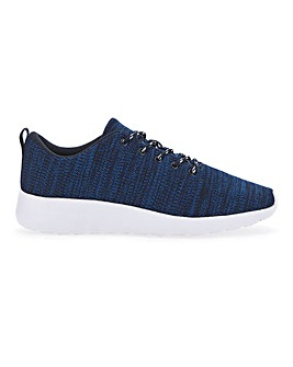 Marl Knit Trainer Extra Wide Fit