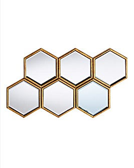 Laurenne Hexagon Cluster Mirror