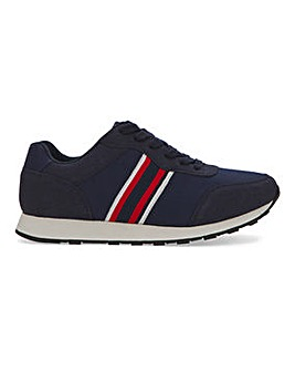 Davey Side Stripe Runner Wide Fit