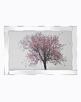 Blossom Tree Mirror Wall Art