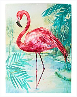 Arthouse Flamingo Tropical Print