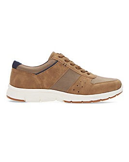 Lightweight Panel Casual Wide Fit Trainer