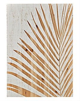 Graham & Brown Palm Leaf Wood Panel