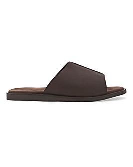 Premium Leather Seam Mule W